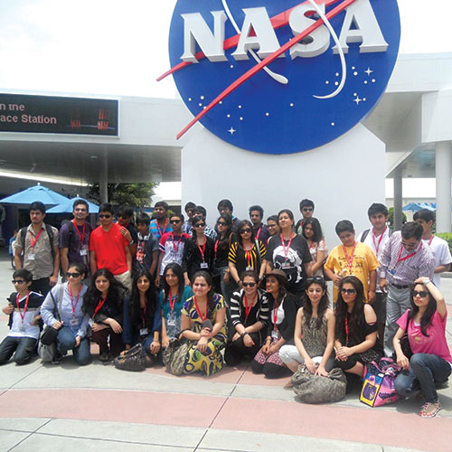 International Educational visit to NASA space center